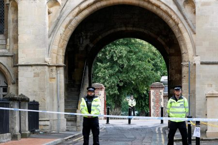 British police charge Reading knife attack suspect with three counts of murder