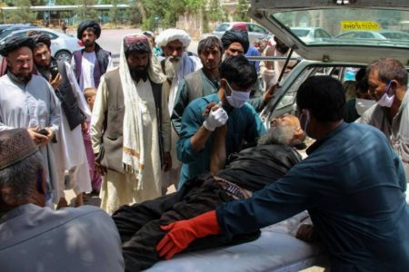 Blasts at Afghan market kill 23 civilians